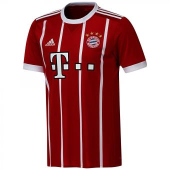 4910a08e14a Maillot de football adidas Performance FC Bayern Munich Domicile Replica  2017 2018 - AZ7961 Masculin - Achat   prix