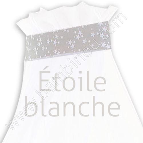 Ciel de lit étoile blanche pour lit Berceau cododo Babybay