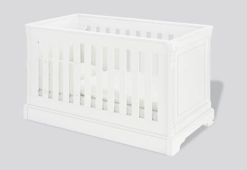 Lit à barreaux bébé évolutif Emilia 70 x 140 Pinolino