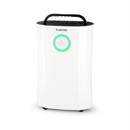 Klarstein DryFy Pro Déshumidificateur d'air réservoir 4l avec fonction ioniseur et purificateur - Pour pièces jusqu'à 40m² - 370W