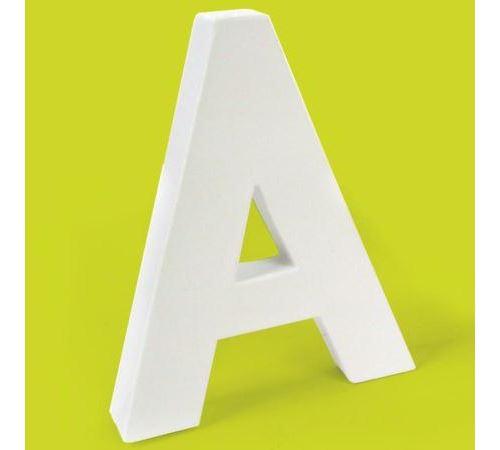 Lettre en carton A