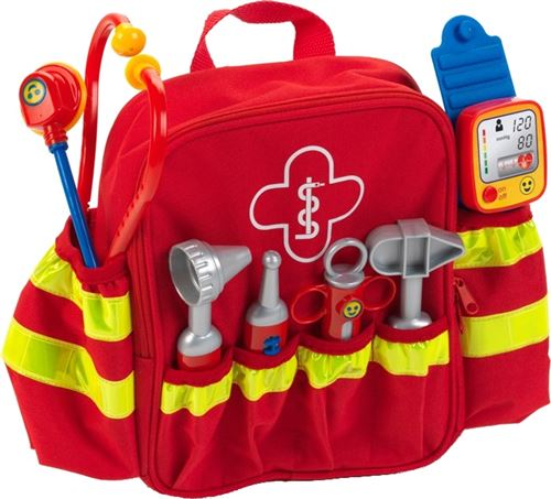 Klein sac à dos de sauvetage rouge
