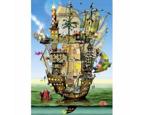 Puzzle 1000 Pièces Colin Thompson Le château de Noé Schmidt Spiele
