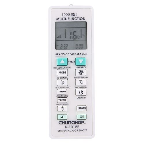 (#103) 1000 in 1 Universal Air Conditioner Remote Controller