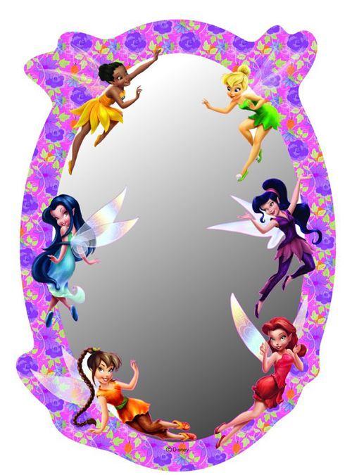 Miroir Fée Clochette La Clairière d'été Disney