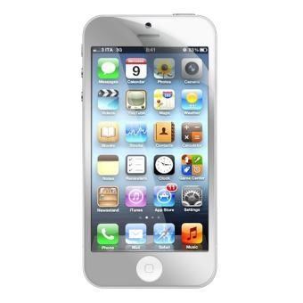 Modelabs Lot de 2 Protections d'écran pour iPhone 5 - Transparentes