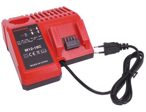 FengWings 12V 18V M18 Remplacer Chargeurs compatible avec Milwaukee li-ion 48-59-1812 48-59-1807 48-59-1806 48-59-1840 2710-20 [Classe énergétique A++]