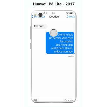 coque huawei p8 lite 2017 message