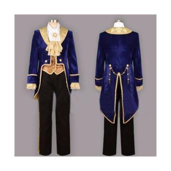 prince 39 belle et b te 39 costume adulte haute de gamme cosplay t xl 2xl xxl d guisement. Black Bedroom Furniture Sets. Home Design Ideas