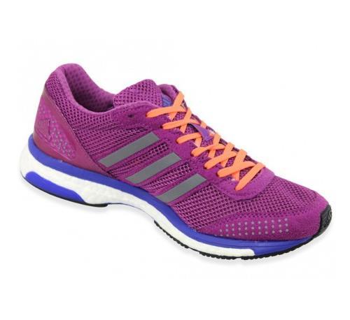 ADIZERO ADIOS BOOST W VIO Chaussures Running Femme Adidas