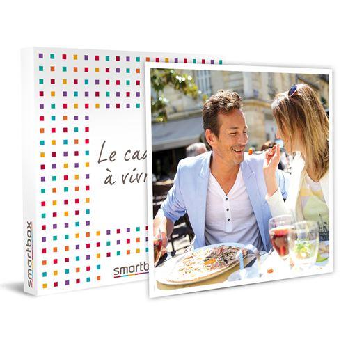 SMARTBOX - Dîner gastronomique Menu 3 Plats pour combler un père fin gourmet - Coffret Cadeau
