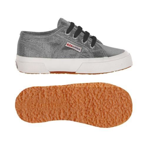 Superga <strong>chaussures</strong> 2750 lamej pour enfant style classique couleur unie