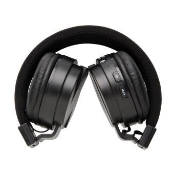 Casque Bluetooth pliable, noir - Casque PC