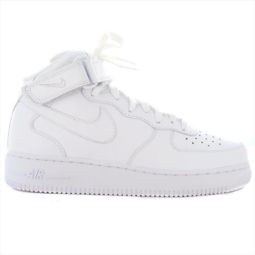Blanc Nike Air Force 1 Mid '07 Baskets Blanc 315123 111