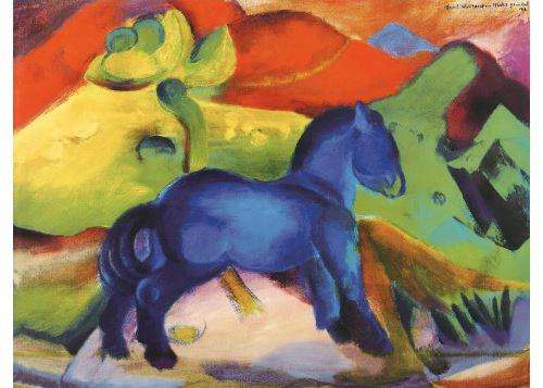 cheval bleu franz marc