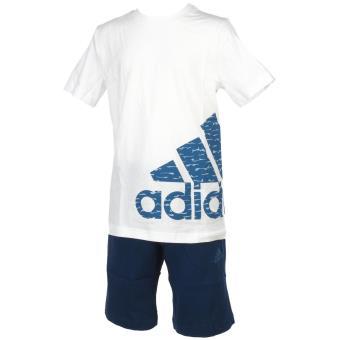 7500fb545b796 Ensemble set Adidas Logo tee+short Blanc Taille 9 10 ans Enfant Garçon -  Survêtements et ensembles de sport - Achat   prix
