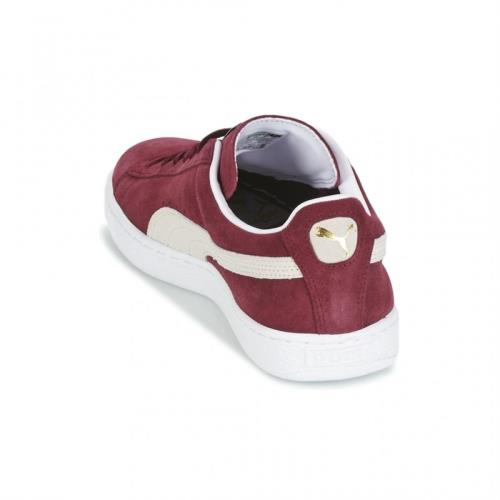 le dernier b3fa2 1b767 Baskets basses Puma Suede Classic rouge bordeaux Rouge Pointure 37 Adulte  Mixte