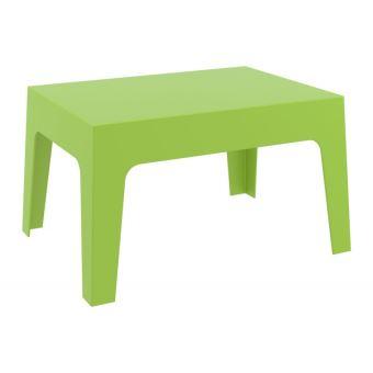 Table basse de jardin en plastique vert 50x70x43 cm MDJ10169 ...