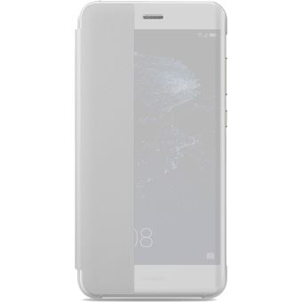 Huawei - Flip cover voor mobiele telefoon - synthetisch - wit - voor Huawei P10 Lite
