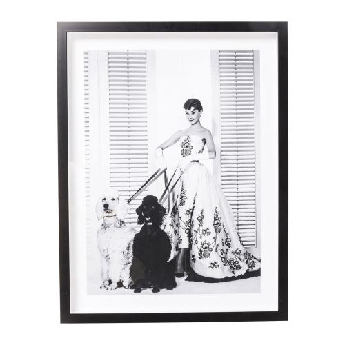 Tableau Frame Actor Audrey Diva 65x85cm Kare Design