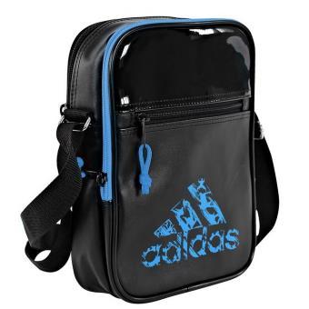e2ccfe4eb0 Sacoche Adidas Originals Small Item Noir et Bleu en Polyuréthane - Sacs à  main - Achat & prix | fnac