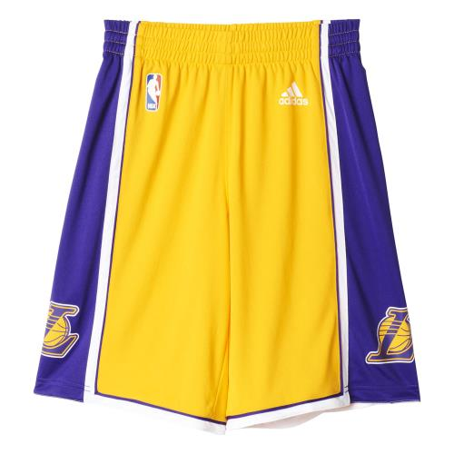 Adidas NBA Los Angeles Lakers #24 Kobe Bryant Jaune 10 ans