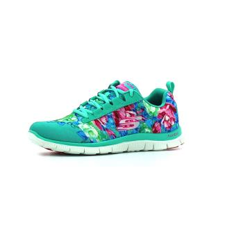 Femme Chaussures Achat Flex Skechers Wildflowers Adulte Appeal sQBthCxrd