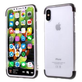 coque iphone x plastique transparente