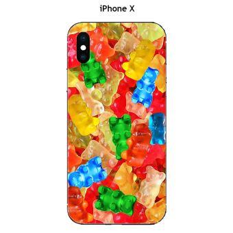 coque iphone x bonbons