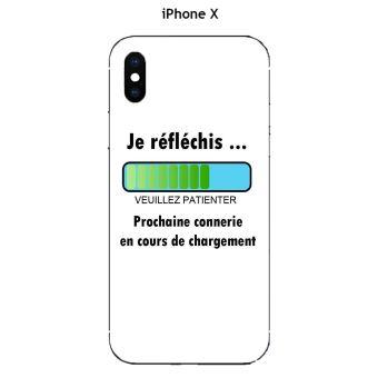 coque citation iphone x