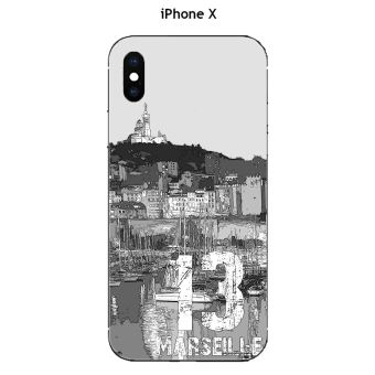 coque marseille iphone x