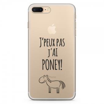 coque iphone 4 je peux pas j'ai poney