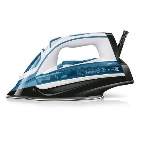 Black + Decker ES9180080B BXIR2400E Fer à repasser, Plastique, Bleu