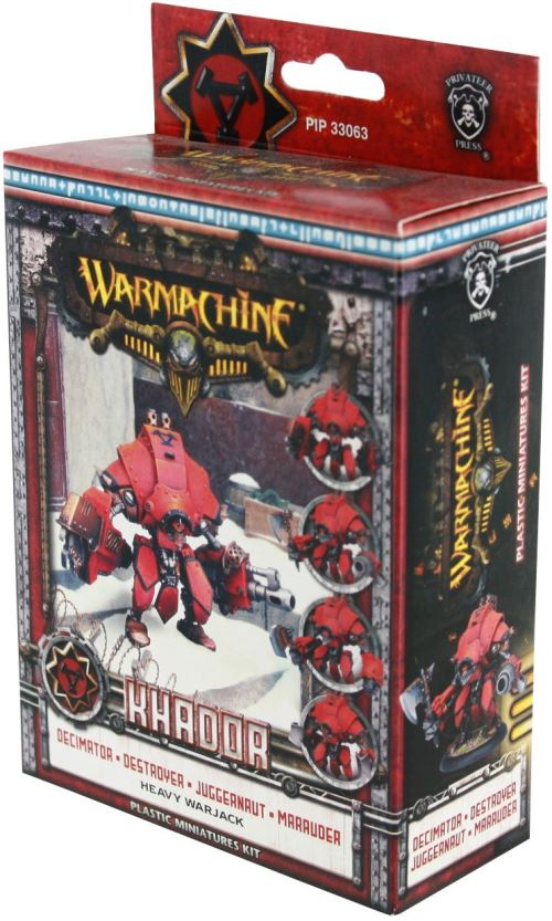 Privateer Press – Warmachine – Khador Heavy Warjack Plastique kit Modèle kit