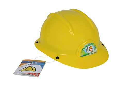 Casquette pour enfants, casquette industrielle - Casque pour enfants jaune de Simba
