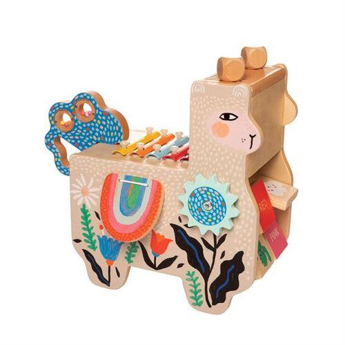 Manhattan Toy xylophone musical Lili Llama junior 31 cm bois