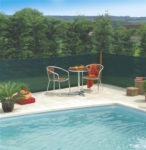 Brise vue Extranet - L 10 x l 1,5 m - Vert