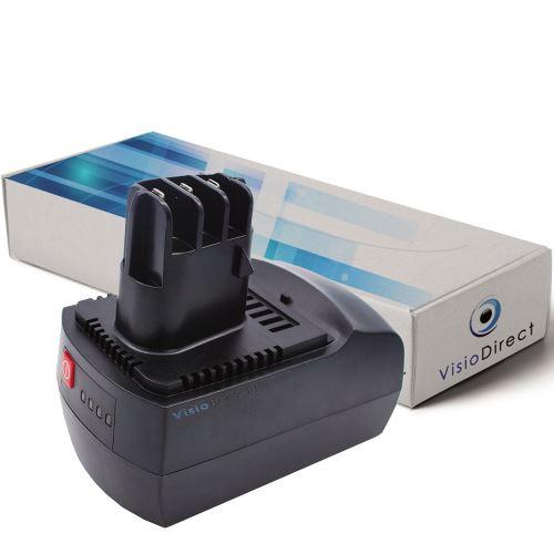 Batterie pour Metabo BSZ 14.4 BSZ 14.4 Impuls SBZ 14.4 Impuls 300mAh 14.4V -VISIODIRECT-