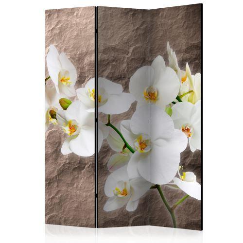 Paravent 3 volets - Impeccability of the Orchid [Room Dividers] - Décoration, image, art | 135x172 cm |