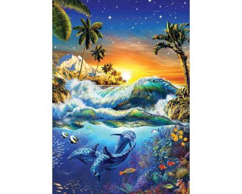 Puzzle 1000 Pièces : Lever du Jour sur Hawaii, Art Puzzle