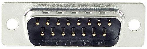 Connecteur DB15 mâle a souder (sachet de 10)