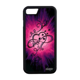 coque iphone 7 silicone papillon