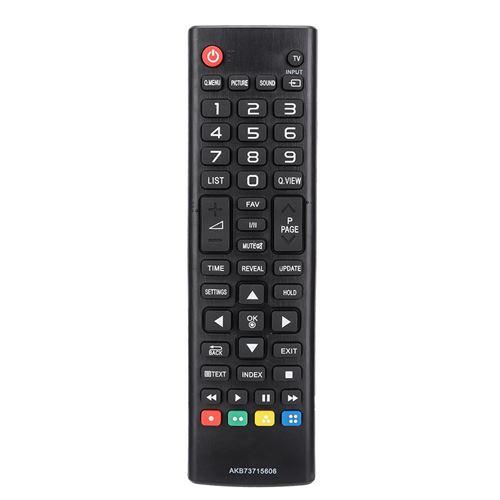 Télécommande de remplacement universelle HD LCD pour LG AKB73715606