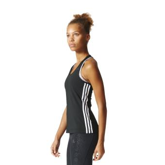 Adidas Débardeur femme adidas D2M 3 Stripes XS noir
