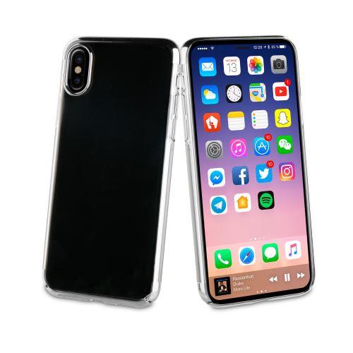 iphone x coque argent