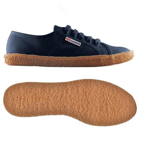 Superga <strong>chaussures</strong> 2750 nakedcotu pour homme et adulte style classique couleur unie