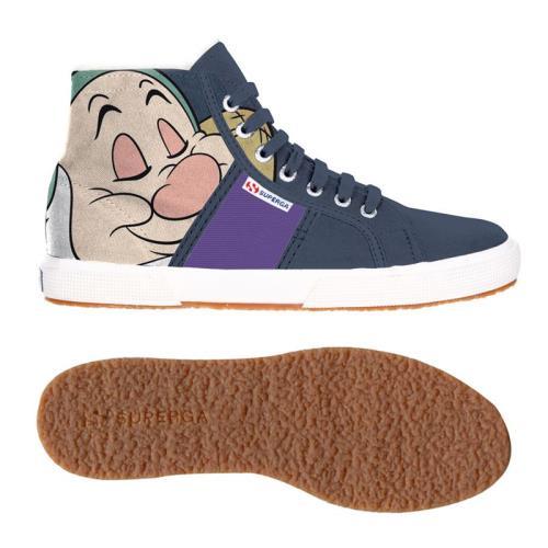 Superga <strong>chaussures</strong> cartoon 2095 dsn pisolo cobw pour adulte style classique imprimé à motifs