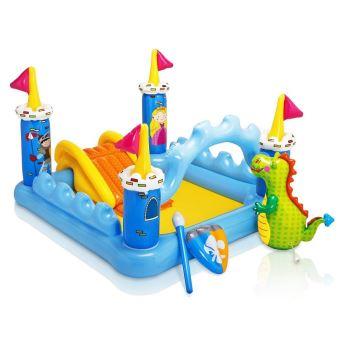 Aire de jeu gonflable ch teau m di val piscine pour - Petite piscine pour enfant ...