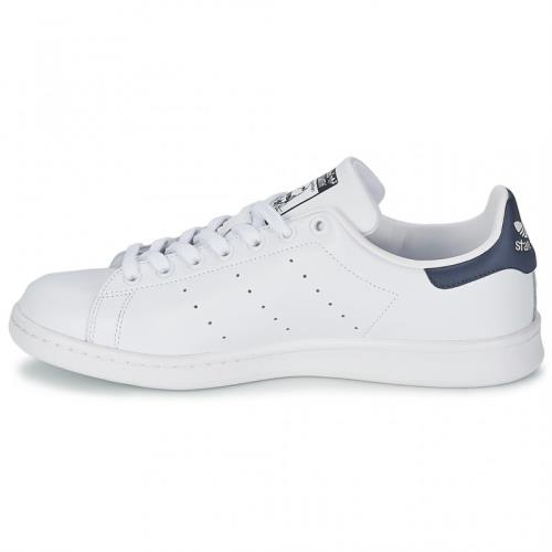 adidas stan smith homme blanc bleu