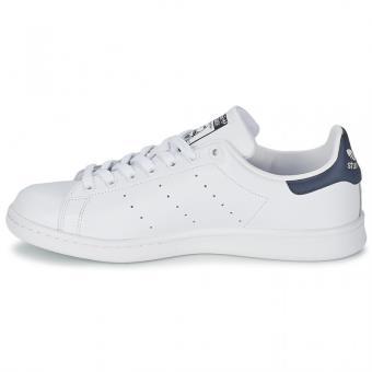 adidas stan smith blanc bleu homme
